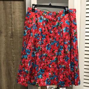 Floral Aline Talbots skirt!